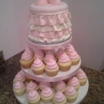 Baby Shower Cake cupcake tower