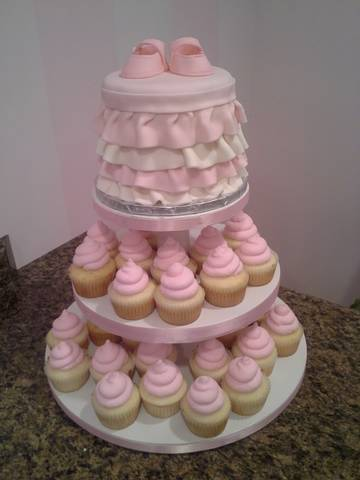 Cake Flavor Ideas For Baby Shower : Cupcakes Sprinklebelle Cakes