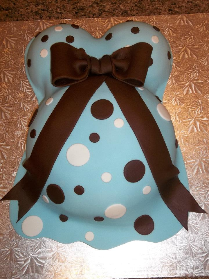 Baby Shower Belly Cake Price