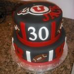 U of U cake