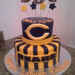 chicago bears cake