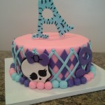 monster high cake 1 tier