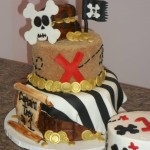 trey pirate cake
