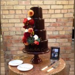 chocolote wedding cake sp
